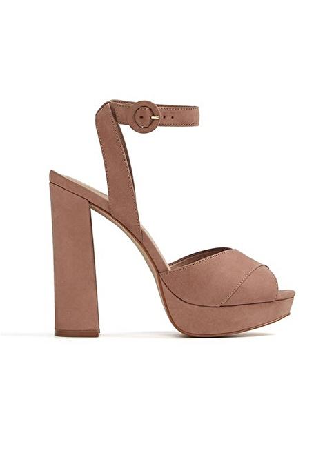 Aldo Platform Topuklu Ayakkabı Ten
